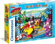 Clementoni 24481 Mickey Roadster Racers
