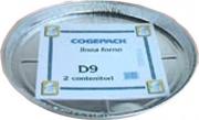Cogepack D09 Teglia Alluminio Pizza 33 h 2.0 pz. 2
