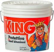 Colorificio Partenopeo King Vernice Acrilica Protettiva per Guaina Rosso 14 lt