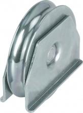 Combi Arialdo ARU041507ZB Ruote per Cancello G Tonda 16Supp mm 100 Pz 6