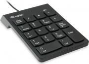 Conceptronic 245205 Tastierino Numerico USB Universale colore Nero