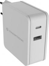 Conceptronic ALTHEA02W Caricabatterie USB 2 Porte AC 60W Interno  120546903
