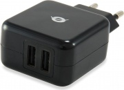 Conceptronic C05-216 Caricabatterie per dispositivi mobili Interno Nero
