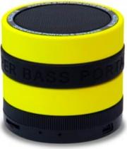 Conceptronic CSPKBTSBY Cassa Bluetooth Portatile Speaker Vivavoce 3W Giallo Nero
