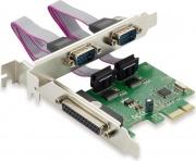 Conceptronic SPC01G Scheda PCI Express Card 1-Port Par &2-Port Serial 110013107