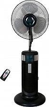 CONCORD SN-400D Ventilatore a Piantana Nebulizzatore Pale 40 cm Oscillante Timer