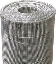 Confine Rete metallica recinzione maglie 1x1 Ø filo 0,60 mm H 60 cm L. 14,6 mt
