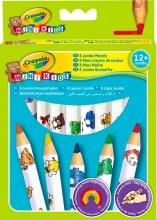 Crayola 3678 Confezione 8 Maxi Matite Colorate Mk