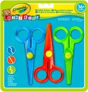 Crayola 81-8119 Forbici da cancelleria Taglio dritto Multicolore