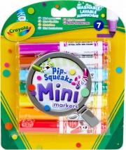 Crayola 8337 Confezione 7 Mini Pennarelli Lavabili