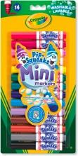 Crayola 8343 Confezione 14 Mini Pennarelli Lavabili