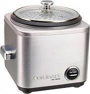 Cuisinart Cuoci riso cuociriso rice cooker risottiera 500 Watt col Inox CRC400E