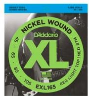 DAddario EXL165 Set corde basso muta 4 corde