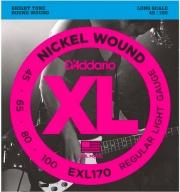 DAddario EXL170 Set corde basso muta 4 corde