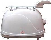 DCG Eltronic Tostapane per Toast 2 Fette 850W Timer - KT 1200