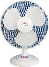DCG Eltronic Ventilatore da Tavolo a Pale ø 40 cm Oscillante 3 Velocità VE 9040