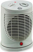 DCG Eltronic Termoventilatore caldobagno stufa elettrica 2000W HL 9395