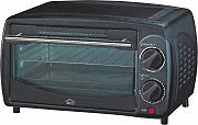 DCG Eltronic Forno Fornetto Elettrico 9Lt 800W col Nero MB9809 N