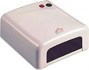 DCG Eltronic Lampada asciugasmalto professionale Raggi UV Timer 120 sec. Automatica NL818