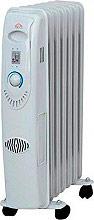 DCG Eltronic Termosifone Elettrico Radiatore ad Olio Stufa 7 Elementi RA2807