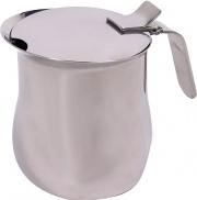 DIMO 0036164 Bollitore latte Bricco 4 Tazze in Acciaio Inox