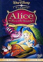 DISNEY Alice Nel Paese Delle Meraviglie Film in DVD