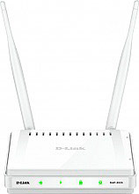 D-Link DAP-2020 Access Point WPA,WPA2 300 Mbits LAN 2 Antenne Bianco