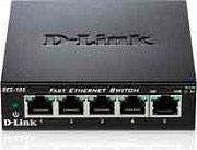 D-Link DES-105 Switch rete 5 porte 10100 Mbps 200 Mbits