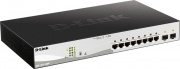 D-Link DGS-1210-10MP Switch 8 Porte Gigabit Ethernet Gestito Poe