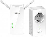 D-Link Adattatore di Rete Powerline LAN 1000 Mbits DHPW611AVE PowerLine AV1000