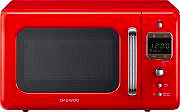 Daewoo KOR-6LBR Forno Microonde 20 Lt 800 W Rosso