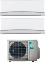 Daikin 2xFTXJ35MW+2MXM50M9 Climatizzatore Dual Split Inverter 12+12 Btu Condizionatore Emura FTXJ-MW