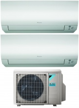 Daikin FTXM3535N+2MXM50M9 Climatizzatore Dual Split Inverter 12+12 Btu Condizionatore FTXMN Perfera