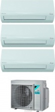 Daikin 2xATXF2535A+3AMXF52A Climatizzatore Trial Split Inverter 9+9+12 Btu Gas R32 3AMXF52A Siesta
