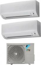 Daikin ATXF25A+ATXF35A+2AMXF40A Climatizzatore Dual Split Inverter 9+12 Btu Condizionatore ATXF25A Siesta