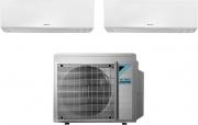 Daikin FTXM25R+FTXM35R+2MXM40M Climatizzatore Dual Split Inverter 9+12 Btu 2MXM40M Perfera