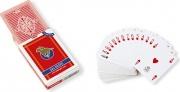 Dal Negro 24130 Carte Poker Rosso Plastica Giochi di Società