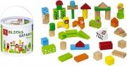 Dal Negro 53966 Safari Blocks Gioco per bambini 50 pezzi