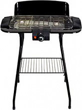 DCG Eltronic Barbecue Elettrico da Giardino 2000 Watt con Termostato - BQS2497