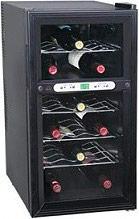 DCG Eltronic Cantinetta Frigo per Vini 18 bottiglie G 6° - 12°11° - 18° - MF52A