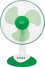 DCG Eltronic Ventilatore da Tavolo a Pale ø 40 cm Oscillante 3 Velocità VE1615 G