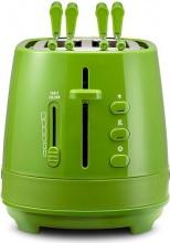 De Longhi CTLAP2203GR Tostapane 2 Fette Tosta pane 550W Raccoglibriciole Verde