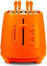 De Longhi CTLAP2203O Tostapane 2 Fette Tosta pane 550W Raccoglibriciole Arancio
