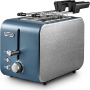 De Longhi CTX 2203.GR Tostapane per Toast 2 Fette 550W 6 Livelli cottura
