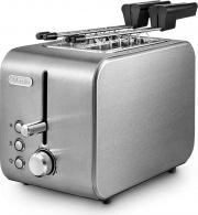 De Longhi CTX 2203 Tostapane per Toast 2 Fette 550W 6 Livelli cottura