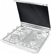 De Longhi CVB 6 PF Coperchio Piano Cottura 60 cm in Cristallo col Bianco