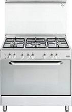 De Longhi Cucina a Gas 5 Fuochi Forno Elettrico Ventilato Grill 90x60 cm DEMX965