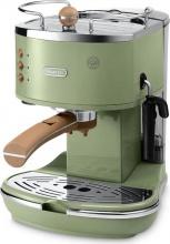 De Longhi ECOV 311.GR Macchina Caffè Espresso cialde Stile Retrò Icona Vintage