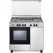 De Longhi FMX 96 B5 ED Cucina a Gas 5 Fuochi Forno elettrico Grill Elettrico 90x60 cm