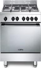 De Longhi GEMMA 66 M2 ED Cucina a Gas 4 Fuochi Forno Elettrico Multifunzione 60x60
